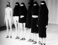Hussein Chalayan, Burka collection 1996