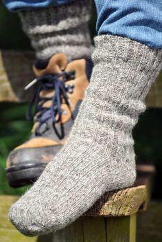 Irish Woollen Walking Socks-100% Jacobs Sheep Wool