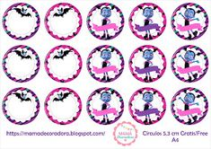 Mamá Decoradora: Kit Imprimible Vampirina Gratis 7th Birthday, Birthday Parties, Vampire Party, Cupcake Toppers Free, Adult Coloring, Free Printables, Birthdays, Kids Rugs, Diy Crafts