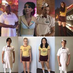 """2,104 Likes, 24 Comments - Rebekka Sorensen Kjelstrup (@7sistersnorway) on Instagram: """"Pop's Diner uniforms somehow they all can pull off the look ❤️#riverdalecast #riverdaleoutfits…"""""""