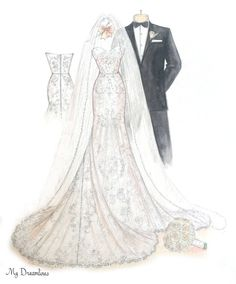 Over 3000 Amazing Wedding Dress Sketches Created Preppy Fall Outfits, Plaid Outfits, Sweater Outfits, Fashion Art, Girl Fashion, Fashion Outfits, Wedding Dress Sketches, Wedding Dresses, Christmas Gift Inspiration