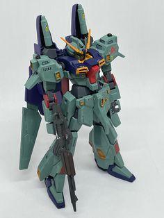 HGUC リ・ガズィ・カスタム 風|@gpo144さんのガンプラ作品|GUNSTA(ガンスタ) Hgbf, Gundam Model, Master Chief, Sci Fi, Fictional Characters, Science Fiction, Fantasy Characters