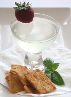 Before the basil disappears from your garden, make Basil Simple Syrup, and then use it in a stunning Basil Lemontini. This ain't your mother's martini! Cocktail Drinks, Cocktails, Coffee With Alcohol, Lemon Vodka, Hooch, Tea Infuser, Simple Syrup, Martini, Cocktail