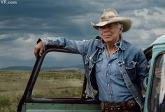 Ralph Lauren photographed at the Double RL Ranch in Ridgway, Colorado by Annie Leibovitz for September 2012 Vanity Fair