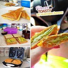 Fitness toasty ve vaječném županu - zdravý recept Bajola Hot Dog Buns, Hot Dogs, Toast, Fitness, Bread, Ethnic Recipes, Food, Eggs, Brot