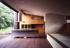 I am not usually into contemporary design, but I think this is really cool.  Inside Outside Kitchen by OnDesign