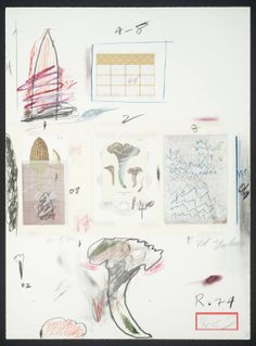 Cy Twombly- Collage, 1974.  Art Experience NYC  www.artexperiencenyc.com/social_login/?utm_source=pinterest_medium=pins_content=pinterest_pins_campaign=pinterest_initial