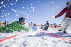 Geschicklichkeit und Spaß stehen im Vordergrund - wir zählen für euch die Punkte. Innsbruck, Hip Hop, Challenge, Alps, Skiing, Dots, Hiphop