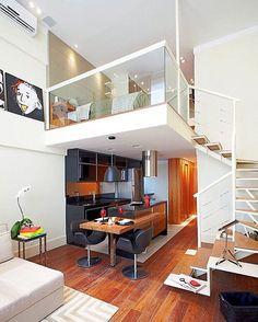 """Follow my friend @interiorselfie for more. Loft Santana by Lorenzzo Arquitetura e Interiores. Location: #SaoPaulo #Brazil #architectdesigne"""