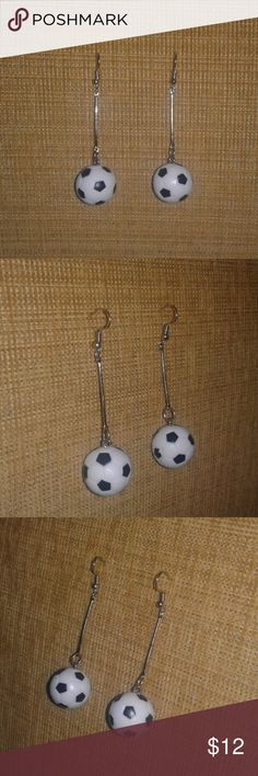 NEW!! Soccer Ball Earrings Perfect for the soccer fan in your life. Get ready for FIFA World Cup 2018 in Russia!! Trendy Jewels Jewelry Earrings