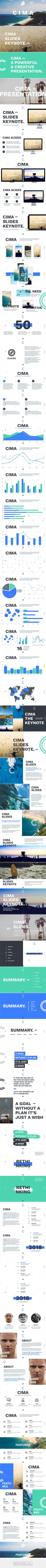 Cima Slides, creative presentation available for PPT, Keynote & Google. - created via https://pinthemall.net
