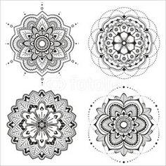 Vektor: Mandala set