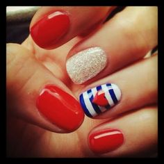 4th of July nails!!!
