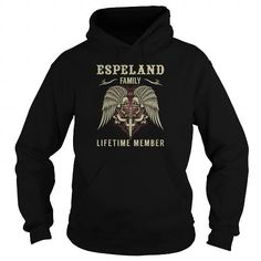 ESPELAND Family Lifetime Member - Last Name, Surname TShirts