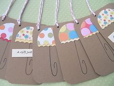 Gift Tags  Baby Shower Gift Tags  Kraft Paper Gift by suziescards, $5.00