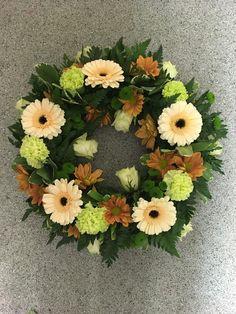 My open wreath