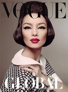 Vogue Italia January 2013 - Fei Fei Sun by Steven Meisel.