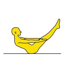■やり方 ※画像参照 1.床に座ります。  2.脚を伸ばし、上半身はゆっくり後ろに倒しながら両足をゆかから上げていきます。  3.画像のように、横から見た時に「Vの字」になるところで止めて10秒キープ!ゆっくりと元に戻ります。  これを10秒キープ→10秒休憩というかたちで3回行いましょう。  ■POINT 1.両足は揃えてできるだけ膝を伸ばしましょう。  2.V字をキープしているときは呼吸を止めないようにしましょう。  自宅で、しかも1分程度でできるお腹スッキリエクササイズ!