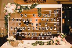 wedding reception idea; photo: Mibelle Photographers Rent Polaroid Cameras @ InstantCameraRental.com