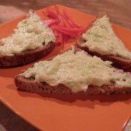 Fotografie receptu: Cuketová pomazánka s česnekem