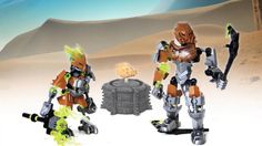 LEGO Bionicle 2015 - Pohatu/Protector of Stone Power-Up stop motion