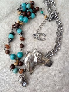 Vintage Assembled One of A Kind OOAK Turquoise by funkyjunkmama, $58.00