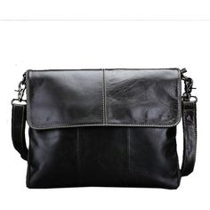 7e594a1a1836 COWATHER Vintage cow genuine leather messenger bags for men handbags  satchels Oil wax leather