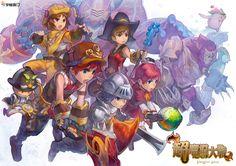 Fantasy Saga Online by *Cushart on deviantART