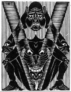 initial v mc escher 1931 s Mc Escher, Escher Kunst, Escher Art, Escher Prints, Escher Paintings, Art Nouveau, Graphic Artwork, Dutch Artists, Art Database