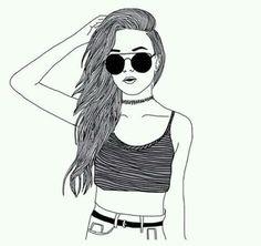 Image via We Heart It #boys #drawings #girls #grunge #indie #look #style #tumblr