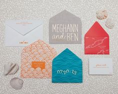 A Sea of Envelopes | Cheree Berry Paper