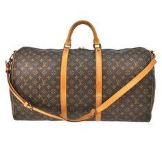 Louis Vuitton Lv Monogram brown Travel Bag