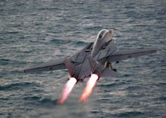 "Grumman F-14A ""Tomcat"" carrier takeoff"