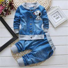 Джинсовый костюмчик для мальчика 2-5 лет