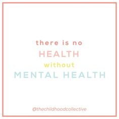 """The Childhood Collective on Instagram: """"✨ there is no health without mental health ✨ - This was the message sent by Dr. Brock Chisholm of the World Health Organization years ago.…"""" Speech Language Pathology, Speech And Language, Adhd And Autism, World Health Organization, Behavior Management, Disorders, Mental Health, Psychology, Childhood"""