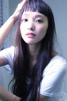 Yuka Mannami - the Fashion Spot Cool Haircuts, Cute Hairstyles, Hair Inspo, Hair Inspiration, Baby Bangs, My Hairstyle, Ulzzang Girl, Pretty Face, Pretty People