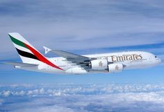 Emirates Airbus A380, what a stunning plane!
