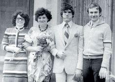 Валерий Гаркалин с женой Екатериной свадьбы (1978)