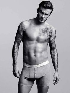 We love having David Beckham on the Galaxy.  We like him even better in his undies :-)