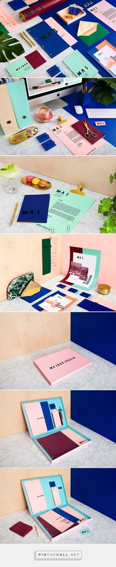 Masquespacio Studio Branding on Behance - created via https://pinthemall.net