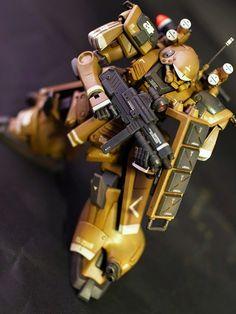 "Custom Build: HGUC 1/144 Marasai ""Desert Type"" - Gundam Kits Collection News and Reviews"
