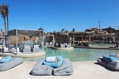 Mykonos Beach Club - Best Beaches in Mykonos - Greece Beach Bars, Beach Town, Beach Club, Club Mykonos, Mykonos Town, Mykonos Greece, Santorini, Crete Greece, Frases
