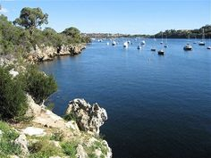 The Bay at Point Walter, Bicton Swan River Perth Western Australia Great Places, Beautiful Places, Perth Western Australia, Rock Pools, Aladdin, Swan, Postcards, The Good Place, Westerns