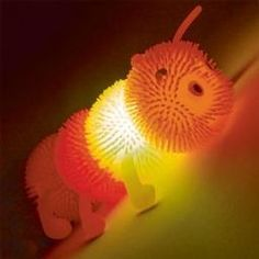 Flashing Squashy Caterpillar - Gentle Special Needs Toy Caterpillar Toys, Special Needs Toys, Sensory Toys, Stocking Fillers, Light Up, Gadget, Mini, Glow, Colours