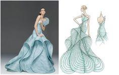 Versace Atelier Lookbook and Sketchbook
