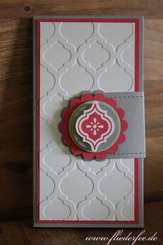 Stampin' Up! Kellnerblockverpackung mit Mosaik Madnesse