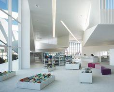 Library in Anzin / Dominique Coulon  Associés