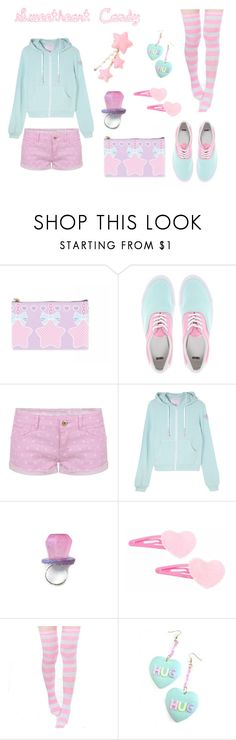 """""""Sweetheart Candy"""" by melodyfire ❤ liked on Polyvore featuring ASOS and TALLY WEiJL"""
