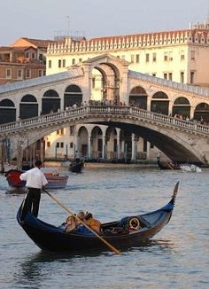 Gondola ride in Venice by jewell