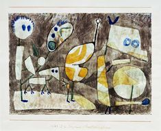 Paul Klee - Ungeheuer in Bereitschaft, 1939, 75